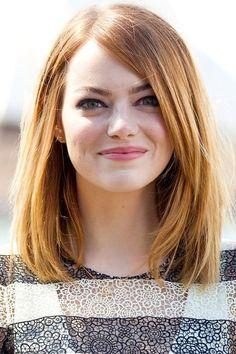 cortes de cabello para cara redonda - Buscar con Google