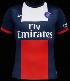 Paris Saint-Germain Home Team Kit by Nike - EU Kicks: Sneaker Magazine Sports Football, Football Shirts, Psg, Rugby, World Cup Trophy, Lifestyle Sports, Dressing, Sneaker Magazine, Soccer Players