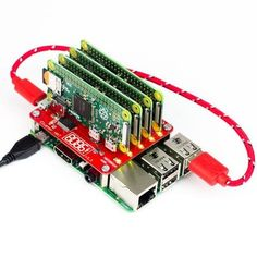 The Cluster HAT interfaces a (Controller) Raspberry Pi A+/B+/2/3 with 4 Raspberry Pi Zeros (NOT included). Configured to use USB Gadget mode, it is an ideal tool for teaching, testing or simulating small scale clusters.