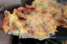 Sbrisolona patate funghi e pancetta ricetta blog il mio saper fare