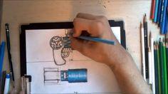 Dremico's Art Channel: Child of Terra Gleamus gun speed art
