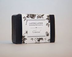 Charcoal Cold Process Soap, Unscented Cold Process Soap, Goat Milk, Unique Jewelry, Handmade Gifts, Etsy, Patent Leather, Kid Craft Gifts, Craft Gifts, Costume Jewelry
