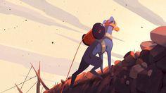 COIL. Court-métrage d'animation réalisé pour le Festival International du Film d'Animation (FIFA) d'Annecy 2014.  Réalisateurs : Charles Bad...
