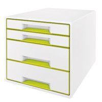 Verstauen Sie ihre Dokumente so einfach wie noch nie in dieser tollen Schubladenbox, welche nicht nur ausreichend und übersichtlichen Stauraum bietet, sondern auch noch ein echter Hingucker ist. In der Büro Trendfarbe 2017 grün.