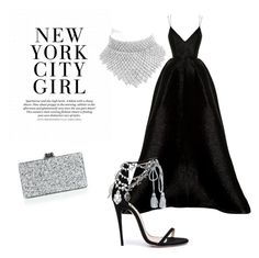 """NYSG"" by explorer-148461648110 ❤ liked on Polyvore featuring Alex Perry, Marchesa, BaubleBar and Edie Parker"