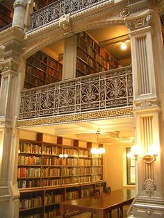 George Peabody Library- Baltimore, Maryland