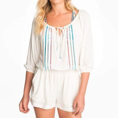 9f4ce17e796ee Keira Perfect for the beach or the weekend, this romper will keep you covered  in