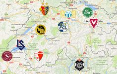 2020 Swiss Super League Map Lugano, Team Logo, Sports Logo, Westerns, Soccer, Club, Logos, Maps, Football Team