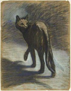 Théophile Alexandre Steinlen, Prowling Cat
