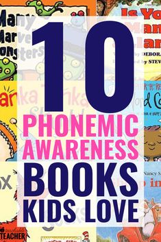 I love using books to practice phonemic awareness skills. These books provide fun and engaging auditory practice in the form of an entertaining read aloud!