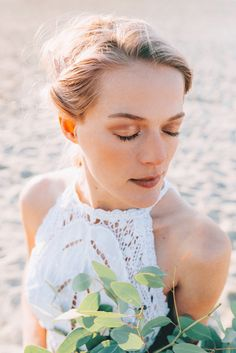 Styled shoot: Bruiloft aan zee met Girl of honour Marit als model