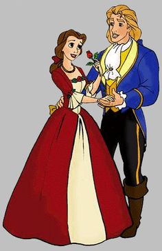 *BELLE & ADAM/THE BEAST ~ Beauty and the Beast, 1991... belle Photo