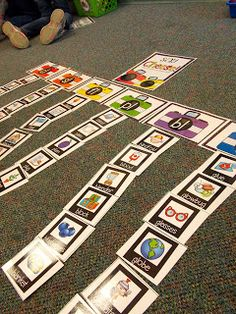Student will sort the picture by beginning blends. The blends are on a card and the pictures which match will go under the blend.
