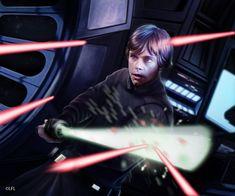 Star Wars LCG: Lightsaber Deflection by Thaldir on deviantART