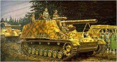Sd.kfz. 165 Hummel (Late version)