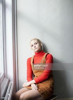 b1bc5c5ef29 Actor Joanna Vanderham is photographed for Vogue on September 13