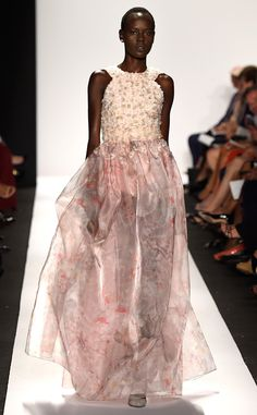Dennis Basso from 100 Best Fashion Week Looks from All the Spring 2015 Collections | E! Online