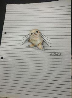 Des animaux qui franchissent les lignes par Iantha Naicker  Dessein de dessin