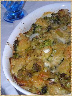 Lumaconi al Forno con Broccolo Siciliano e Gorgonzola - Sciroppo di Mirtilli e Piccoli Equilibri