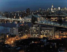 Watch Tower Society in Brooklyn by night  ew13113