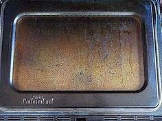 clean your oven the fast and easy way, appliances, cleaning tips, My disgusting dirty oven and oven window before cleaning