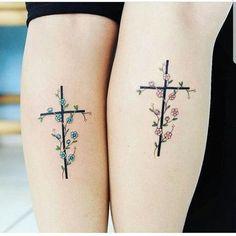 Cancer Tattoos, Sister Tattoos, Friend Tattoos, Mini Tattoos, Body Art Tattoos, Small Tattoos, Cute Tattoos, Catholic Tattoos, Religious Tattoos
