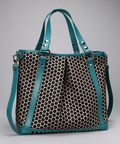 Mia Bossi Turquoise Lyndsey Diaper Bag