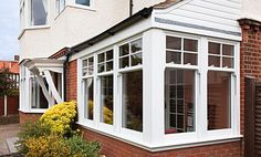 Forget draughts and rattles associated with old sash windows. Find out how Everest uPVC Sash Windows are tailor-made to retain the classic look of your home. Upvc Sash Windows, Wooden Sash Windows, Dormer Windows, Casement Windows, Exterior Windows, Cottage Windows, House Windows, Windows And Doors, Kitchen Windows