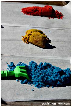 How to Dye Sand