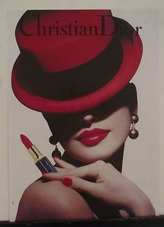 Christian Dior Lipstick Advert from the 80's / 90's