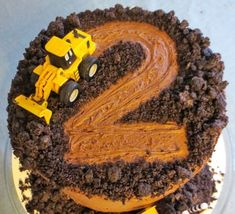 35 ideas for birthday party construction food ideas digger cake Digger Birthday Cake, Digger Cake, 2 Birthday Cake, Birthday Ideas, Digger Party, Tractor Birthday, 4th Birthday, Birthday Cakes For Boys, 3 Year Old Birthday Party Boy