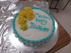 1st cake I made!!! :)