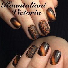 Non Holiday… Holiday Nails Glam Nails, Manicure And Pedicure, Toe Nails, Beauty Nails, Fall Nail Art Designs, Colorful Nail Designs, Beautiful Nail Designs, Gorgeous Nails, Pretty Nails