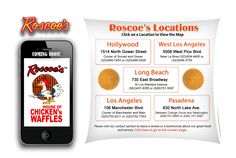 Roscoe's Chicken and Waffles rocks...there's nothing like it!  Wish they would open a location in Orange County!