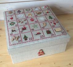 Petits Points et Compagnie boite semi-kit ou fiche Noël 2015