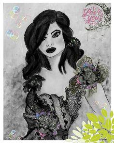 Print Beautiful Lady figurative Art deco Women Altered Illustration Of Original Painting Black White Art Fashion Art UK Etsy Shop Etsy Folk. Ariana Grande Drawings, Black White Art, Art Uk, Beauty Hacks Video, Graphic Design Posters, Figurative Art, Handmade Crafts, Fashion Art, Digital Prints
