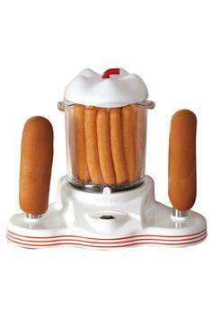 Venda Simmons - Winkel / 8078 / Cozinha / Máquina de Cachorros Quentes Branco e Vermelho. De 50€ por 19€.