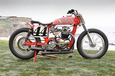 Ron Wood Norton flat track racer / Bike EXIF / Classic motorcycles, custom motorcycles and cafe racers British Motorcycles, Racing Motorcycles, Vintage Motorcycles, Custom Motorcycles, Custom Bikes, Flat Track Motorcycle, Norton Motorcycle, Motorcycle Design, Norton Bike