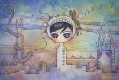 Juri Ueda 17 498x336 Juri Ueda   Watercolor Fairies