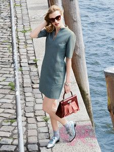 burda style: Damen - Kleider - Etuikleider - Shiftkleid - leicht tailliert