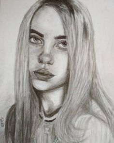 How To Have A Fantastic Billie Eilish Drawing With Minimal Spending Cool Art Drawings, Pencil Art Drawings, Easy Drawings, Drawing Sketches, Horse Drawings, Drawing Art, Billie Eilish, Art Inspiration Drawing, Art Inspo