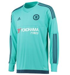 1ffc09e66 Chelsea 2015 2016 Home Goalkeeper Shirt- Available at uksoccershop.com  Soccer Kits