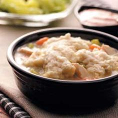 Easy Chicken and Dumplings Recipe from Taste of Home