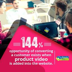 A video on a website can increase the conversion rate by many folds. #Animation(2D/3D) #ExplainerVideo, #PromotionalVideo #3DModel