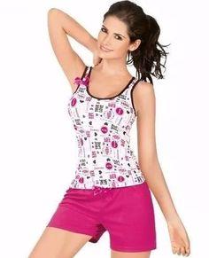 patrones pijama de mujer dama molde Pyjamas, Pjs, Pajama Outfits, Nightwear, Night Gown, Pajama Set, How To Wear, Swimwear, Clothes