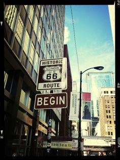 Route 66, the beginning