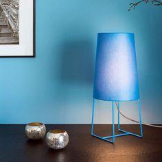 frauMaier - Minisophie Tischleuchte blau
