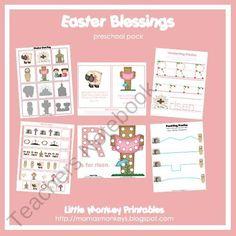 easter blessings preschool pack