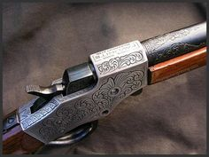 custom engraved rifles | Engraved Steven Favorite, Reigel Gun Engraving