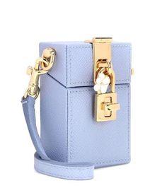 Dolce & Gabbana Dolce Mini Box Leather Shoulder Bag